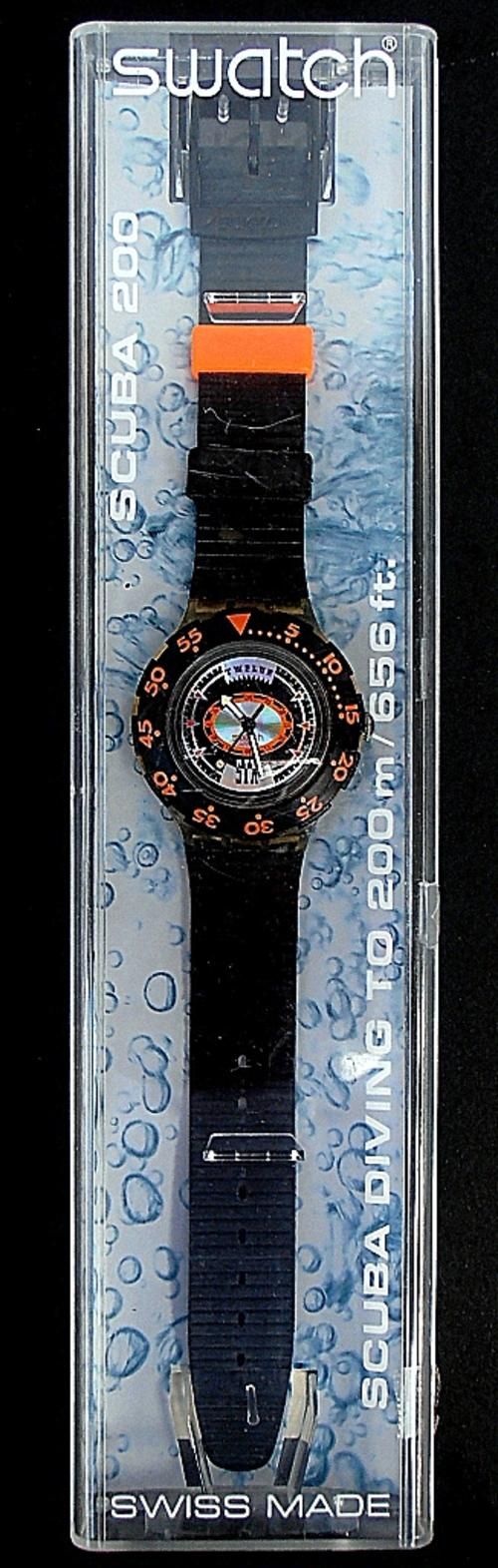 Sports outdoors watches vintage 1993 swatch scuba - Swatch dive watch ...