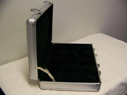packaging display aluminium watch display case holds 30 men or aluminium watch display case holds 30 men or ladies watches
