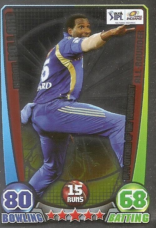 Cricket Attax Cards 2012 Cricket Attax Ipl League 2012
