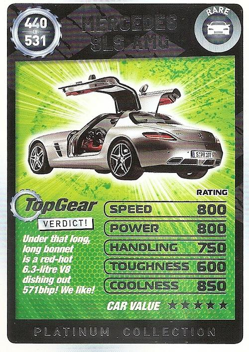 Top Gear Turbo Challenge Cards Trading Cards Top Gear
