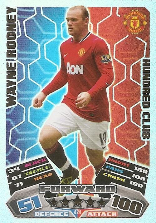 Wayne Rooney 100 Club