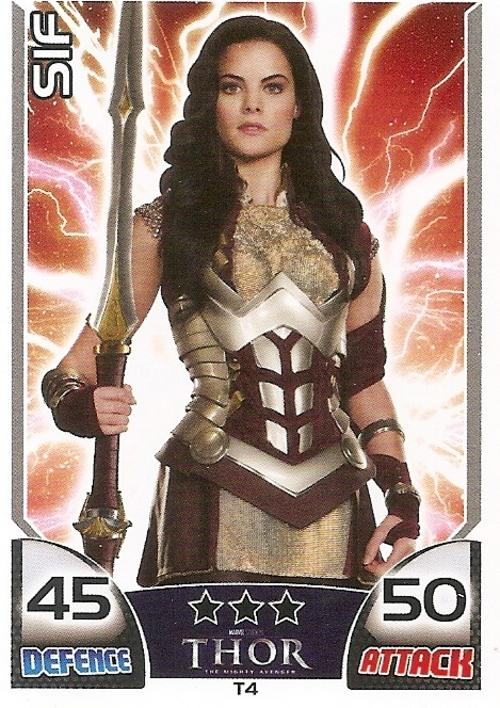 Trading Cards - TOPPS HERO ATTAX - MARVEL UNIVERSE - THOR ...