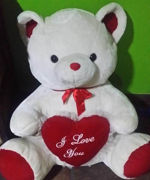 stuffed animals giant white teddy bear just in time for valentines day for sale in pretoria. Black Bedroom Furniture Sets. Home Design Ideas