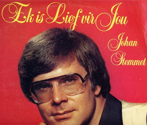 "Afrikaans - Johan Stemmet. "" Ek is lief vir jou "". LP was sold for R30.00 on 30 Jan at 15:16 by bigjjhb in Johannesburg (ID:56310215) - 1293019_101002151455_johan_stemmet_ek_is_lief_vir_jou_f"