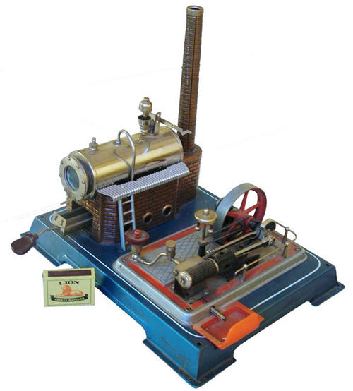 D16+Engine+For+Sale  WILESCO D16 Working Steam Engine with