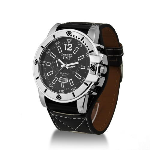s watches oversized diesel time mens was sold
