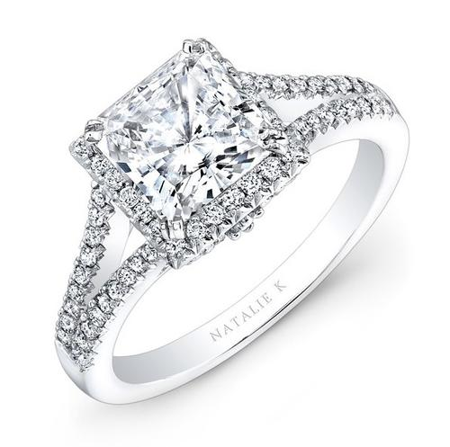 90ct PRINCESS CUT DIAMOND ENGAGEMENT RING - CHOOSE YOUR OWN RING ...