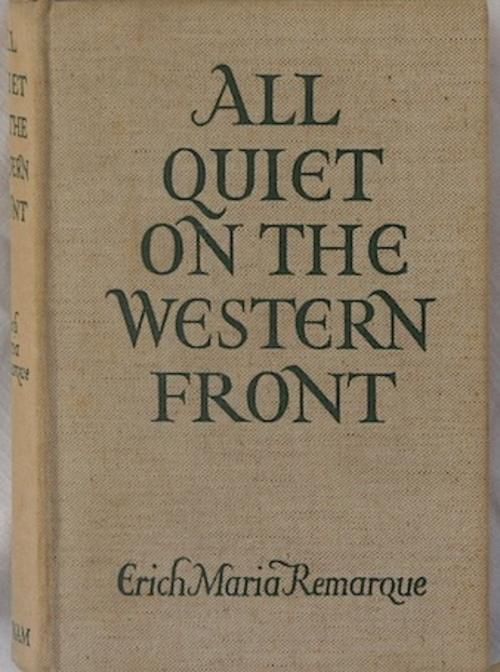 an analysis of the book all quiet on the western front by erich maria remarque All quiet on the western front: a novel - ebook written by erich maria remarque read this book using google play books app on your pc, android, ios devices download for offline reading, highlight, bookmark or take notes while you read all quiet on the western front: a novel.