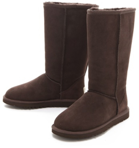 tan ugg style boots