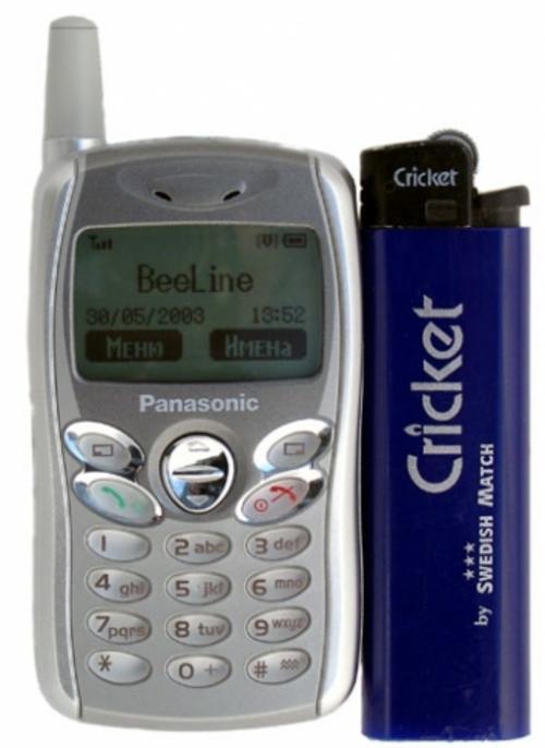 Panasonic Panasonic Gd 55 Worlds Smallest Cell Phone Was