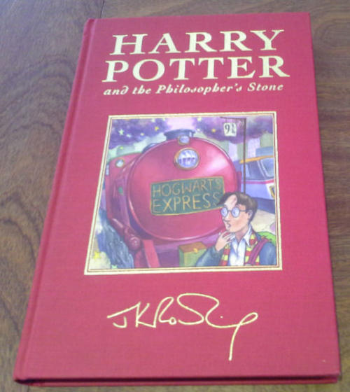First Editions Harry Potter And The Philosopher 39 S Stone