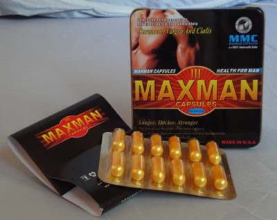 how to use maxman capsules