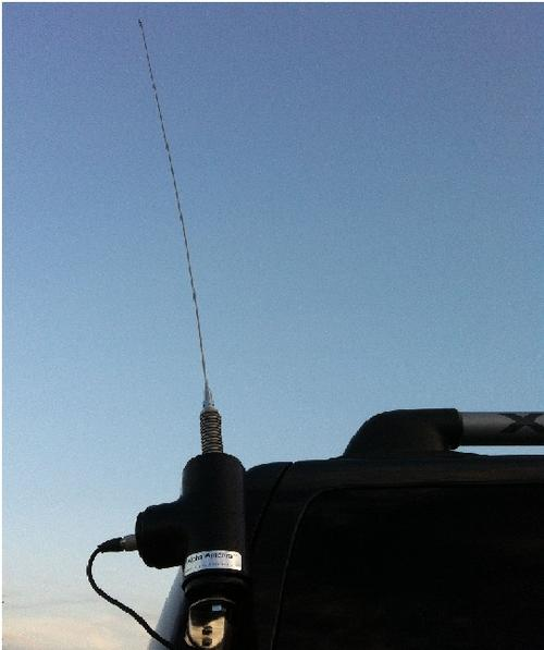 Multi band mobile ham radio