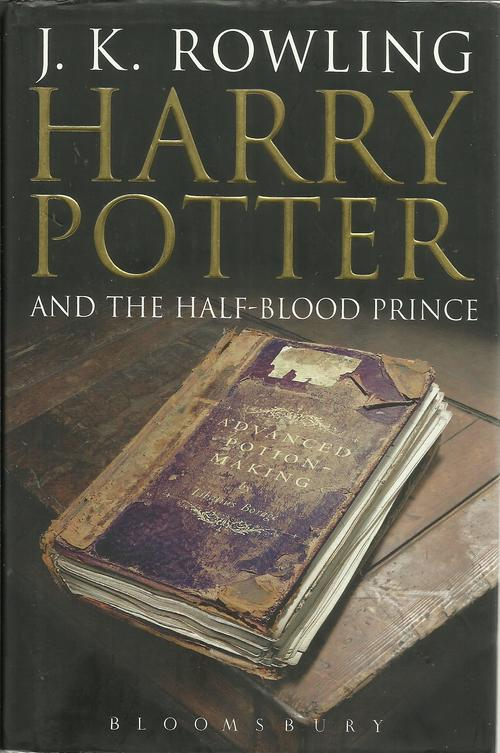 other fiction jkrowlingharry potter and the half