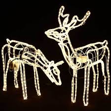 Christmas - rope light deer Christmas lights was sold for R220.00 on 23 Oct at 15:02 by mel567 ...