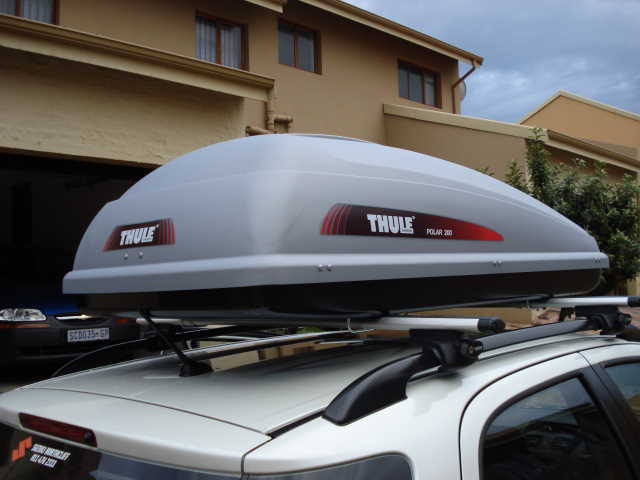 thule polar 100 roof box fitting instructions