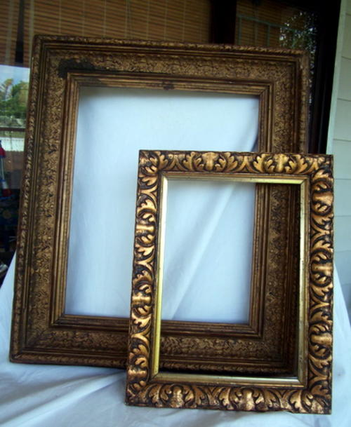 Stucco On Frame : Frames mirrors a lovely victorian stucco frame and