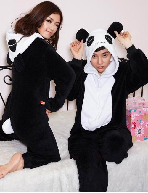 playsuits jumpsuits panda all in one onesie jumpsuit pyjama playsuit was sold for on. Black Bedroom Furniture Sets. Home Design Ideas