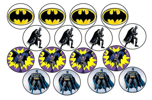 Resource image in batman cupcake toppers printable