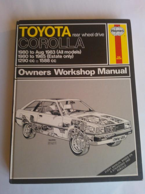 1997 toyota corolla owners manual and warranty toyota owners book db. Black Bedroom Furniture Sets. Home Design Ideas