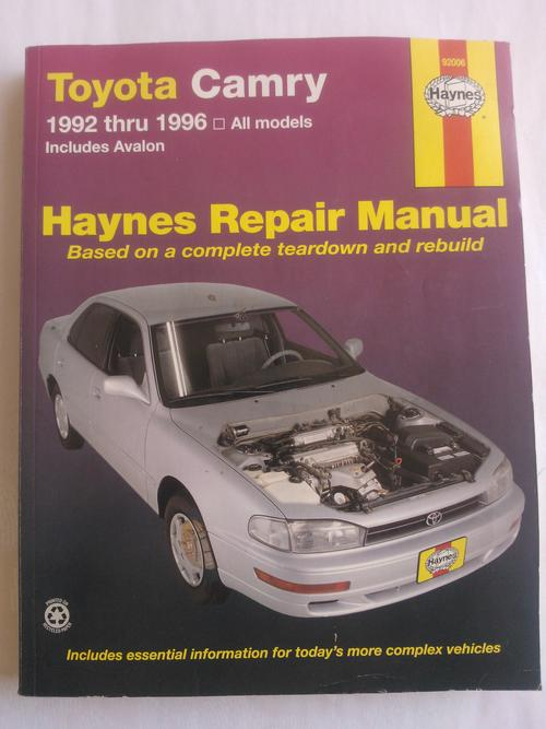 workshop manuals haynes 92006 toyota camry workshop manual 1992 1996 for sale in pretoria. Black Bedroom Furniture Sets. Home Design Ideas