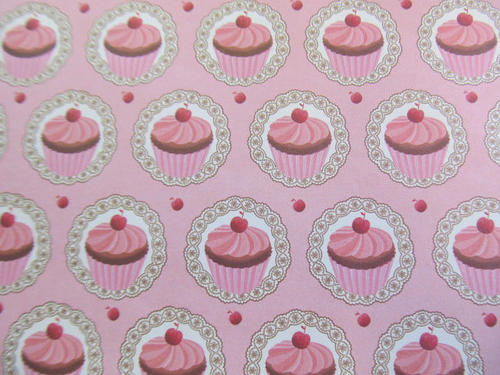 Cupcake Paper Design : Card, Paper & Envelopes - CUPCAKE DESIGN PAPER-20CMx20CM ...