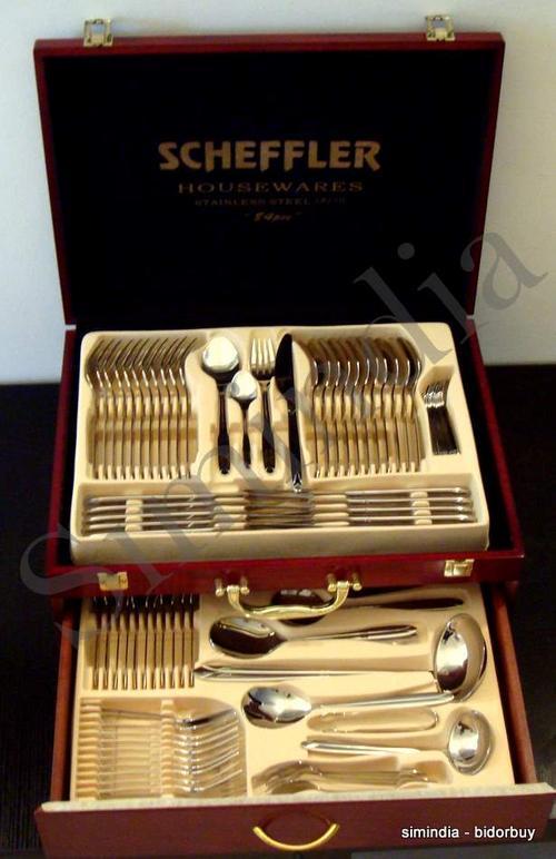 Other Cutlery Scheffler 84 Pcs Cutlery Set Heavy
