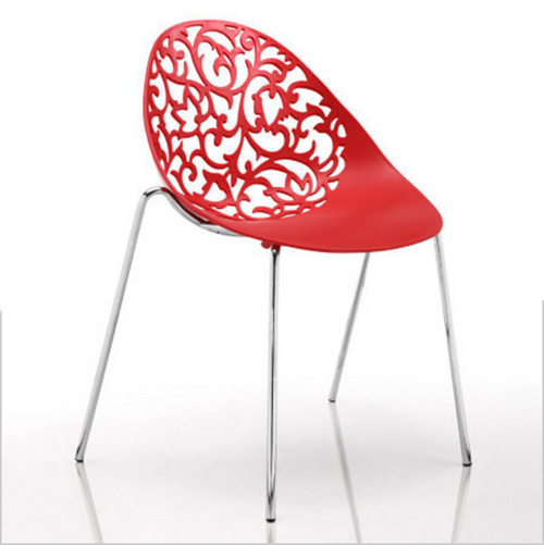 chairs loungers modern stacking red plastic chair with
