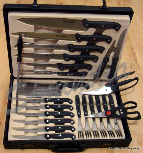 other cutlery perfect gift chefs knife and steak fork set 24 piece presented in a handsome. Black Bedroom Furniture Sets. Home Design Ideas