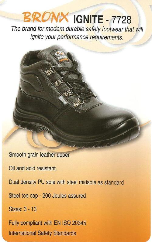 Shoes - BRONX IGNITE SAFETY BOOT Was Sold For R295.00 On 3 Apr At 1201 By MFW TRADING In Durban ...