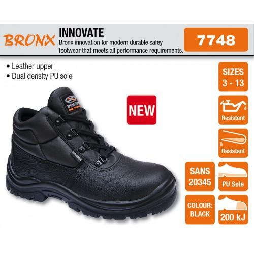 Shoes - BRONX INNOVATE SAFETY BOOT Was Sold For R249.95 On 7 Nov At 1202 By MFW TRADING In ...