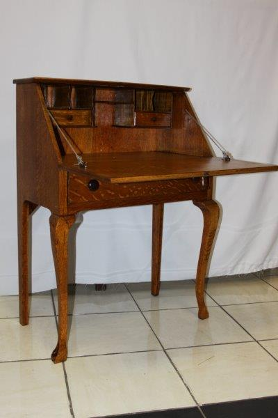 oak writing bureau furniture