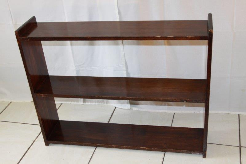 Bookcases AN AWESOME SIMPLE VINTAGE 3 TIER BOOK SHELF IN