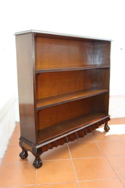 Bookcases An Exquisite Solid Imbuia Ball Amp Claw Bookcase