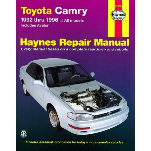haynes manual toyota camry 1996 mixegoto. Black Bedroom Furniture Sets. Home Design Ideas