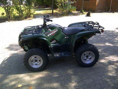 quad bikes yamaha grizzly 700cc was listed for r55 000