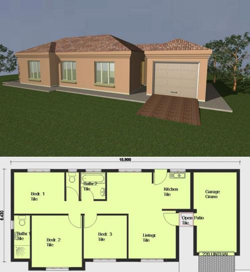 Building plans pre drawn house plans was listed for r100 for Pre designed homes plans