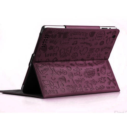 Cartoon, Sleeve Bag for Ipad. Purple for ipad 234