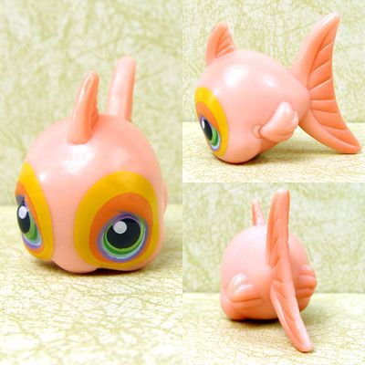 Other collectable toys littlest pet shop fish rare was for Fish pet shop