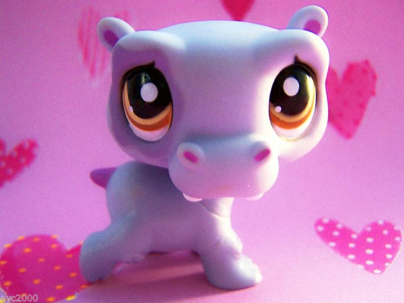 Littlest Pet Shop Hippo Character Toys - Only ...