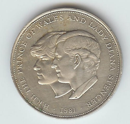 1981 diana and charles commemorative coin