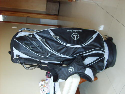 Bags carts authentic mercedes golf bag never used new for Mercedes benz golf bag