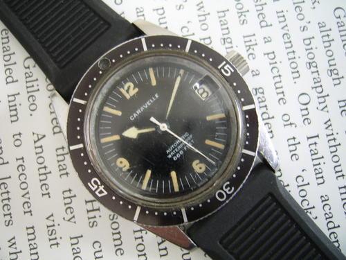 [Caravelle] Vintage Diver : Watches - reddit