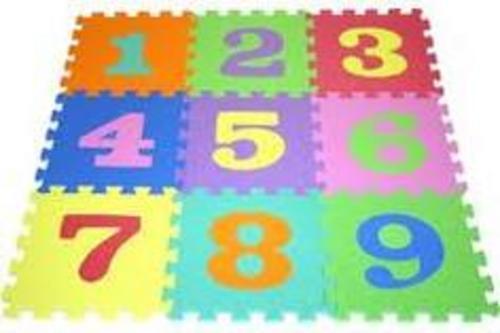 Blocks Amp Sorters Foam Puzzle Number Mats 0 9 Was