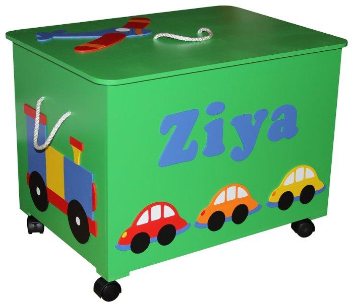 ... Wheels Toy Box / Personalised for sale in Port Elizabeth (ID:215114309