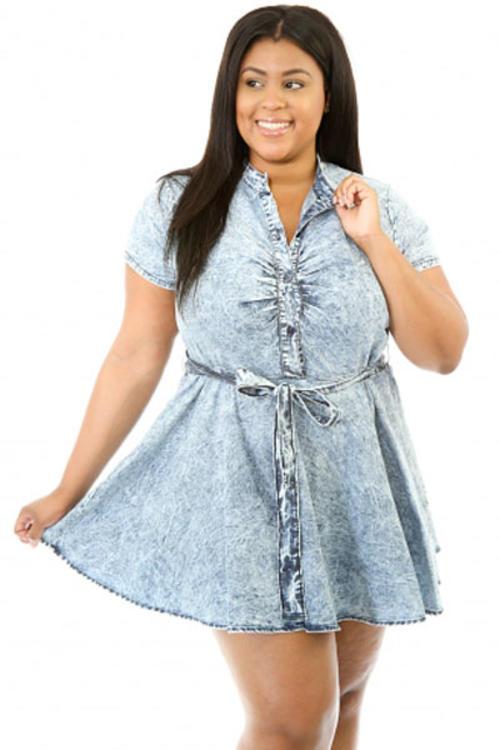 plus size v neck bridesmaid clothes