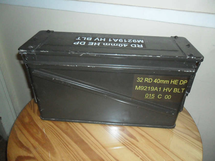 40mm grenade steel penetration