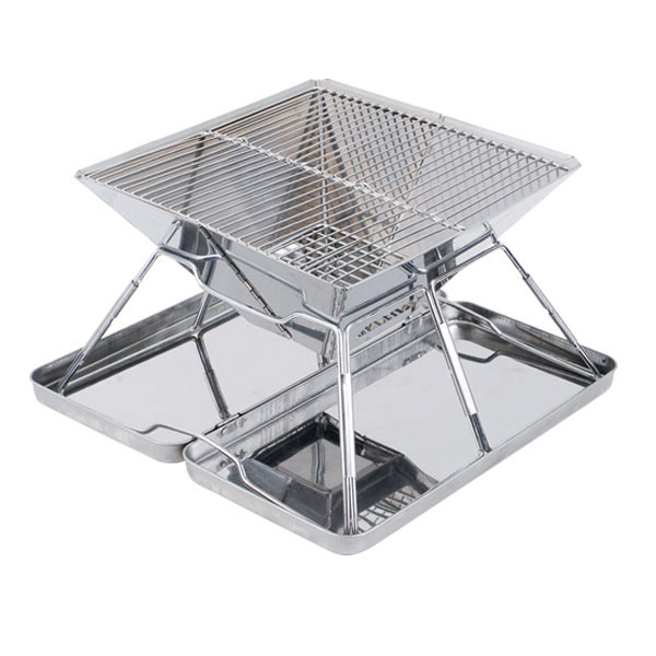 Portable Braai Stand Designs : Other braai outdoor cooking fold up stainless bbq