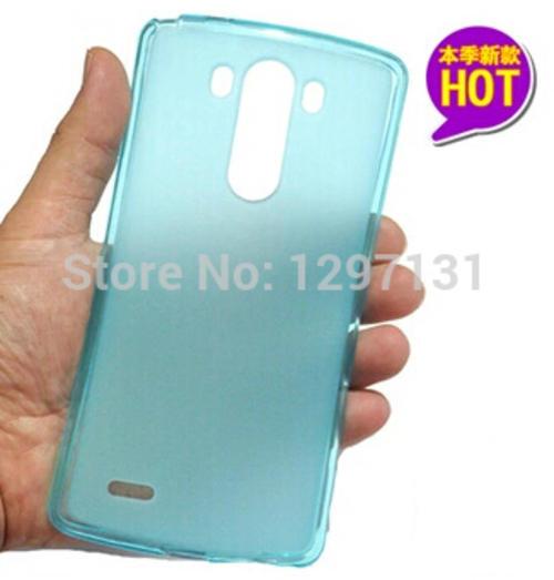 lg g3 tpu gel cover blue bidorbuy
