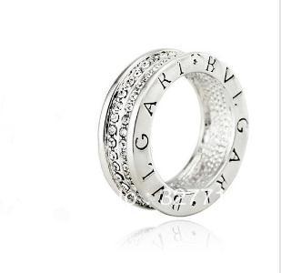 silver bvlgari silver ring pendant stunning in stock